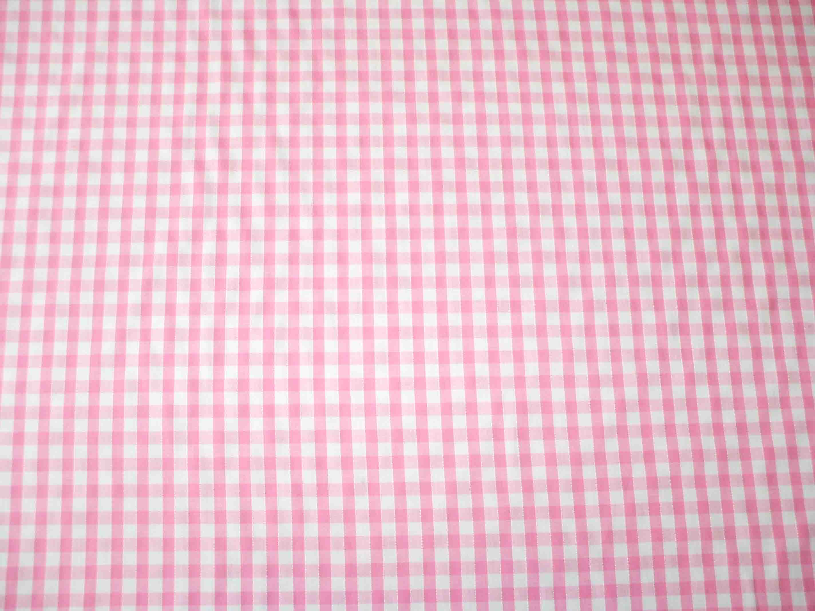 1 4 gingham quality polycotton fabric in pink for Gingham fabric