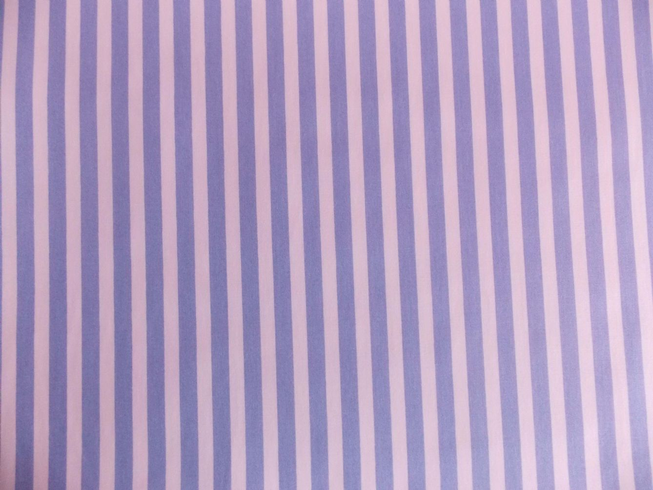 Stripe Blue Green And White: Light Blue With White Stripe 100% Cotton Fabric